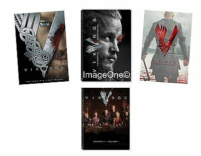 Vikings: The Complete Series Seasons 1-4 DVD NEW