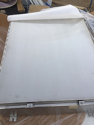 "NEW Hoffman A36H3010SSLP Stainless Steel Electrical Enclosure  36"" x 30"""