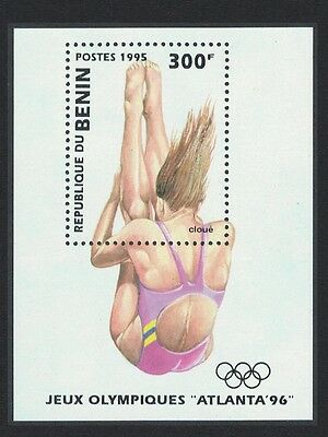 Benin Olympic Games Atlanta 1996 1st issue MS SG#MS1284
