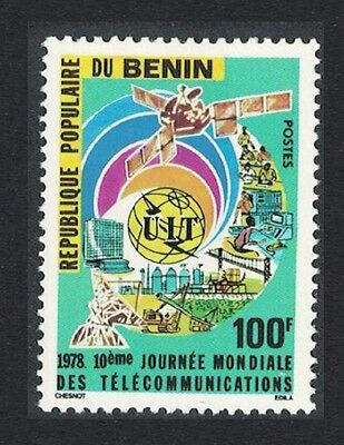 Benin 10th World Telecommunications Day 1v SG#694