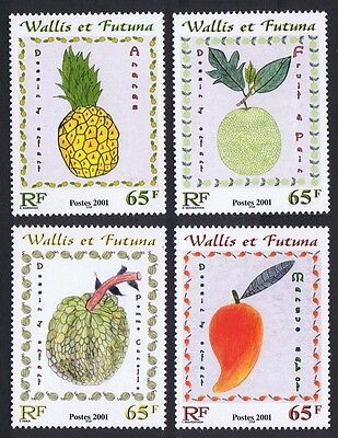 Wallis and Futuna Children's Fruit Paintings 4v SG#784/87 SC#545-546