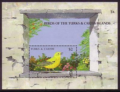 Turks and Caicos Yellow Warbler MS SG#MS1018a SC#815