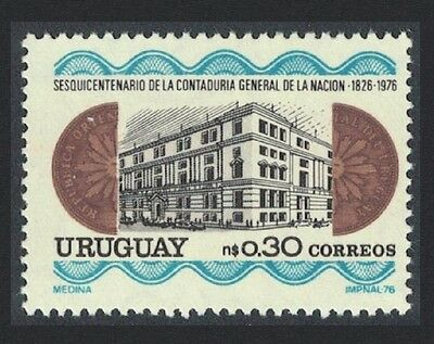Uruguay 150th Anniversary of State Accounting Office 1v SG#1652