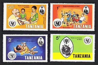 Tanzania International Year of the Child 4v SG#263/66 SC#123-26