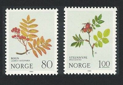 Norway Flowers 2v SG#867/68