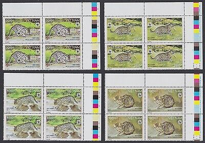 Vietnam WWF Fishing Cat 4v Top Right Corner Blocks with Traffic Lights