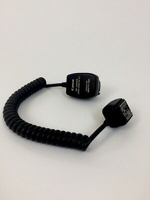 Genuine Canon Off-Camera Flash Shoe Cord OC-E3 (2')