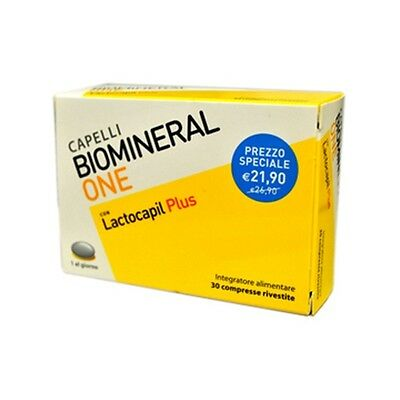 Biomineral One Lactocapil Plus Integratore Alimentare 30 Compresse