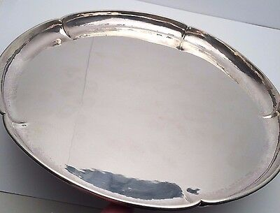"""Kalo Sterling Silver 11"""" Serving Tray"""