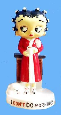 Wade Betty Boop I Don't Do Mornings Figurine.