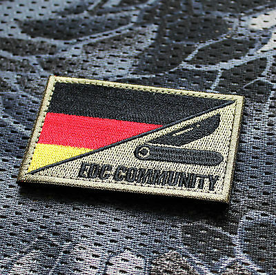 Aufnäher Patch Klett Ursuz Every Day Carry Deutschland Prepper EDC Airsoft SHTF