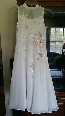 Princess Girls Pageant Gown Flower Girl Dress Prom Pageant Ballgown Dance Party