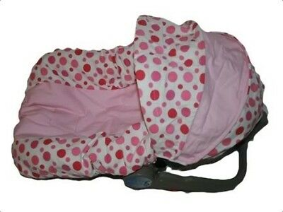 GIrls Infant CAR SEAT COVER-For Graco Evenflo- KYLIE