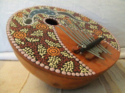 Thumb Piano Karimba/Mbira Made from a Coconut Shell