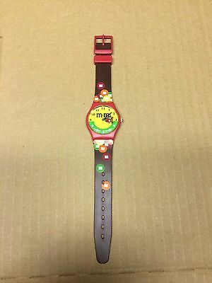 Vintage M&m's Candy Watch