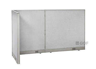 GOF L-Shaped Freestanding Partition 36D x 90W x 48H / Office, Room Divider