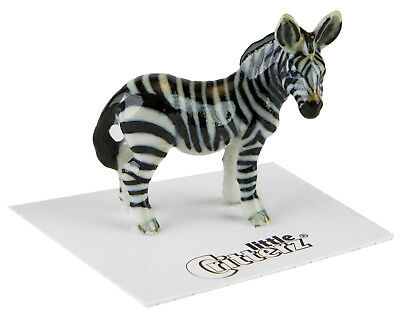 ➸ LITTLE CRITTERZ Wild Animal Miniature Figurine Zebra Flicker