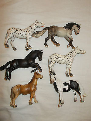 Schleich Breyer 6 Horse Lot