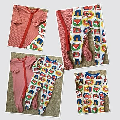 Next & Tu Baby Boys Cute Colourful Sleepsuits 6-9 Months
