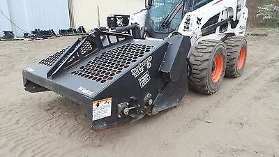 BOBCAT Rockhound Skid Steer Bobcat Landscape Rake 5B Attachment