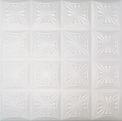 POLYSTYRENE TILES  PANELS WALL CEILING  (Pack of 100) 25 Sqm - CAKE