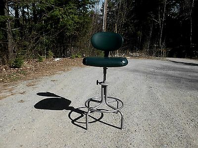Vintage Mid Century Industrial Drafting Chair/stool