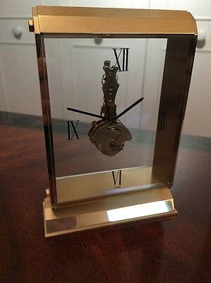 Swiza Athena Swiss Desk Clock 'Mint' Condition And Very Rare!