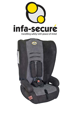 USED INFA SECURE Roamer Plus Baby Toddler Booster Car Seat