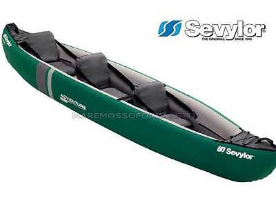 Canoeing Inflatable Sevylor New Adventure Plus 2+1 Places Kayak Inflatable