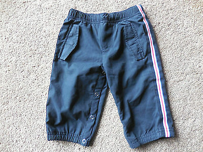 BOYS ESPRIT LINED TRACK PANTS - SIZE 6mths - VERY GOOD CONDITION