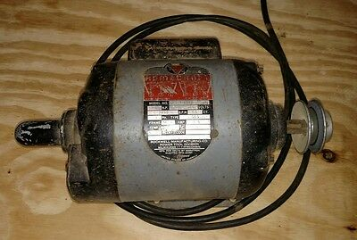 """Delta Milwaukee homecraft 3/4 hp 3450rpm motor.  Dual 5/8"""" shafts table saw"""