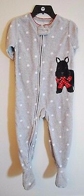 dc4cbc5130 Carters Baby Toddler Footed Zip Up Blanket Sleeper Pajama Girl Boy Winter  Fleece