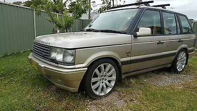 Range Rover P38 1997 Autobiography Gold Automatic 4.6L Efi Need Bit Of Tlc