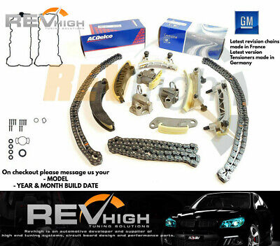 Holden Rodeo Timing Chain Kit 3.6l V6 Alloytec LY7 LCA Genuine LE0 Cloyes Set