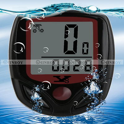 Bike Bicycle Cycling LCD Computer Odometer Speed Speedometer Waterproof