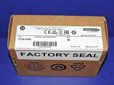 2016 FACTORY SEALED Allen Bradley 1734-FPD Point I/O Field Potential Distributor