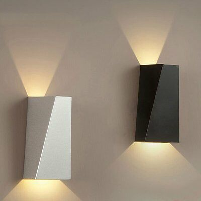 Modern 10W Indoor Wall Lights LED Lighting Up Down Warm White Wall Lamp Sconces