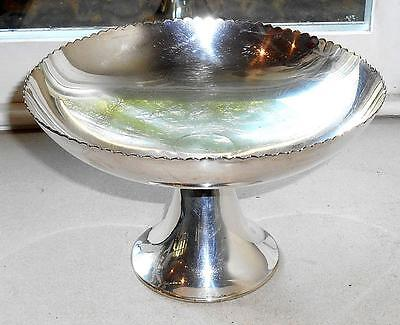 Vintage Mappin & Webb Art Deco Silver Plated Comport Bowl