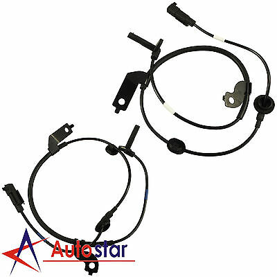 2pcs Front Left & Right ABS Wheel Speed Sensor For Mitsubishi Lancer Outlander