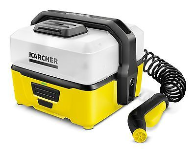Karcher OC3 Mobile Outdoor Cleaner - Battery Powered Pressure Washer 16800050