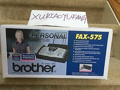 Brand New Brother Fax 575 Plain Paper Fax/Phone/Copier
