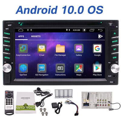 "US Android9.0 2Din Car Stereo GPS Navi DVD Player 6.2"" Double 2DIN Radio 3G WiFi"