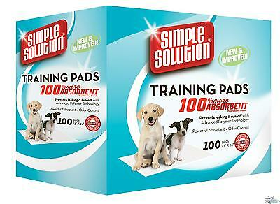 Simple Solution Puppy Training Pads - Carton of 100