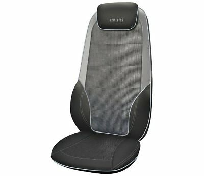 HoMedics Max Shiatsu Massaging Chair Black and Grey RRP 299.99 lot GD