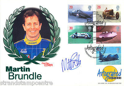 1998 Speed - Westminster Autographed Editions Off - Signed Martin Brundle