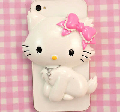 GIANT Cute Kitty Cat Flatback Cabochon Embellishment Decoden Crafts