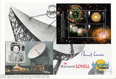 2002 Astronomy - Westminster Autographed Editions Off - Signed BERNARD LOVELL