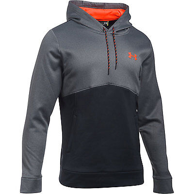 Under Armour Hoodie Storm Icon Twist Schwarz Pullover Zipper Sweatshirt Jacke