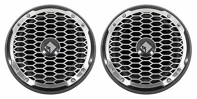 """2 Rockford Fosgate PM210S4B 10"""" 1000W Marine/Boat 4-Ohm Subwoofers Punch M2 Subs"""