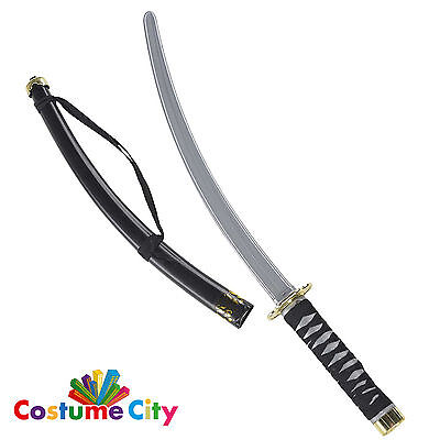 Prop 83cm Ninja Sword & Scabbard Katana Halloween Fancy Dress Party Accessory